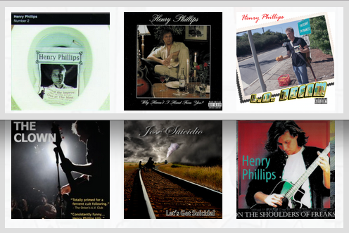 Henry Phillips Albums